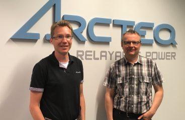 Juha Arvola ja Robert Olander
