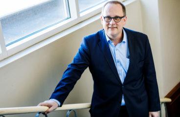 Vaasan kaupunginjohtaja Tomas Häyry. (Kuva: Linus Lindholm)