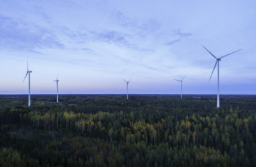 Torkkolan tuulivoimapuisto Vaasassa