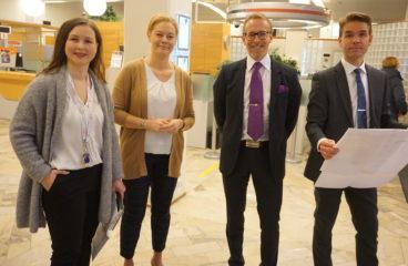 Kaisa Lejon, Maria Östman, Ulf Nylund, Janne Vikman.