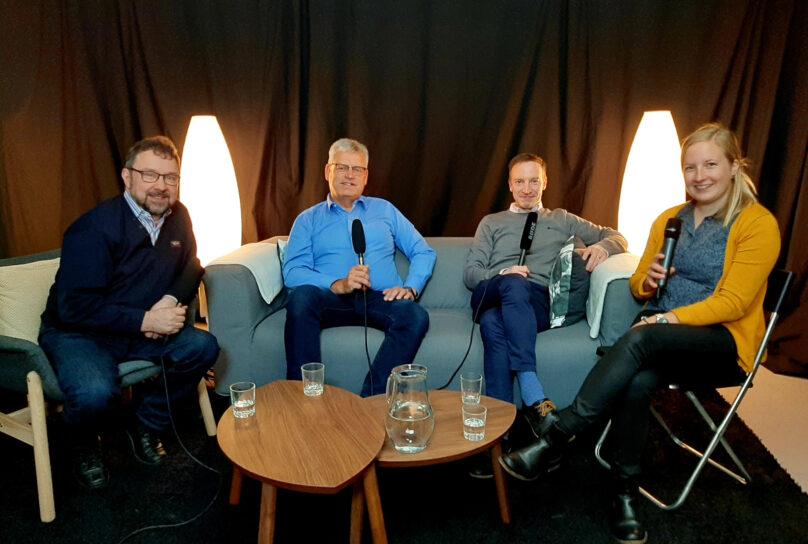 Rasmus Hautala, Göran Östberg, Tomas Knuts, Nora Backlund.