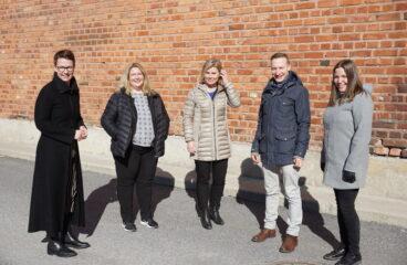 Emma Westerlund, Sara Åhman, Heidi Matinlassi, Tomas Knuts, Sara Libäck-Sandin.