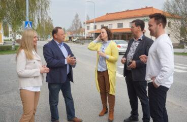 Katja Rajala, Mikael Fredman, Anna Bertills, Kaj Svels, Tommi Mäki.