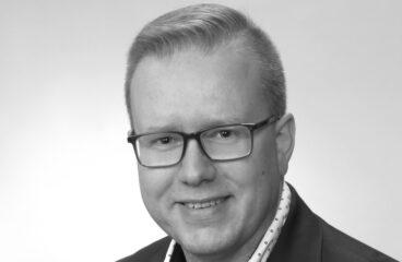 Matias Båsk svartvit profilbild