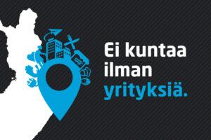 Suomen Yrittäjät kuntavaalit 2021 pääkuva - Ei kuntaa ilman yrityksiä