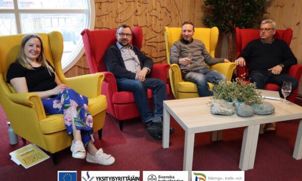 Nora Backlund, Rasmus Hautala, Tomas Knuts, Göran Östberg