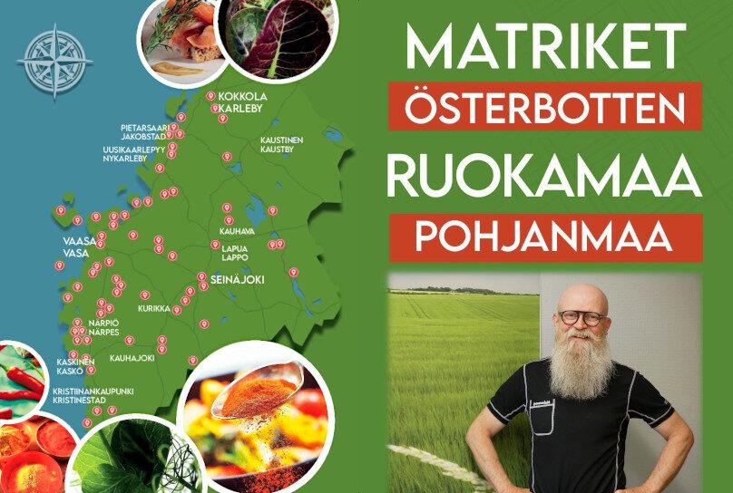 Esite Matriket Österbotten - Ruokamaa Pohjanmaa; Mats Sabel