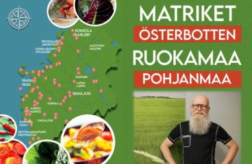 Poster Matriket Österbotten - Ruokamaa Pohjanmaa; Mats Sabel