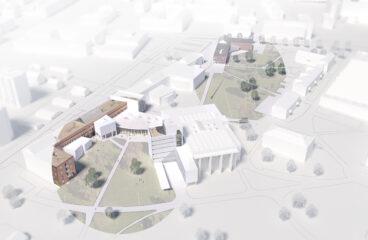 Havainnekuva Vaasan yliopiston kampus