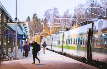 Juna-asema Vaasa