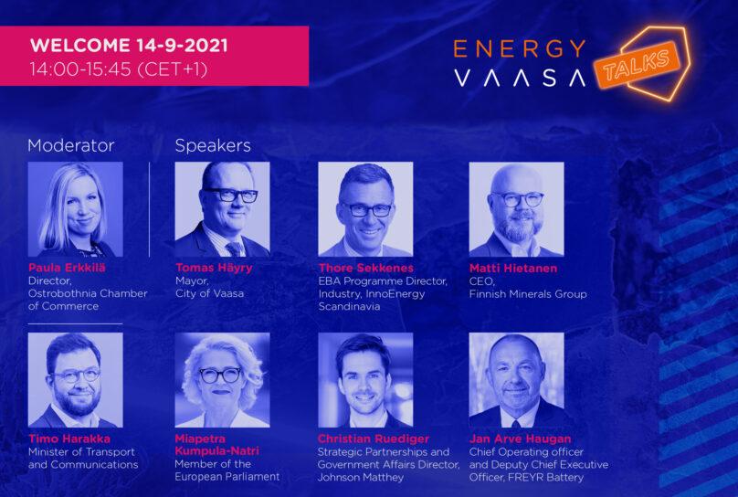 EnergyVaasa Talks 14-9-2021